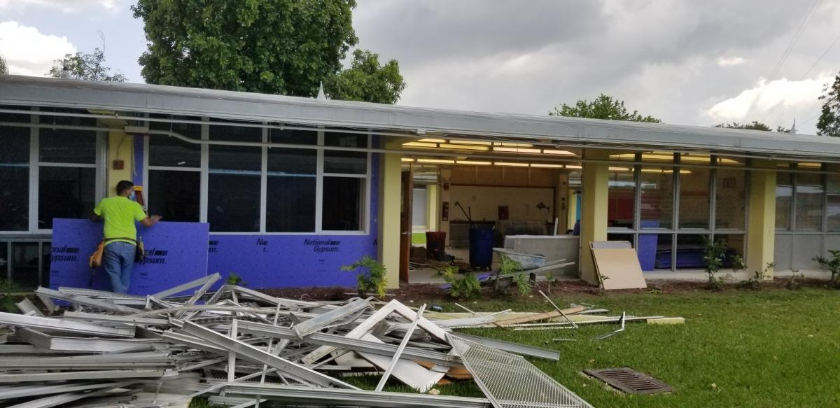 School getting a face lift