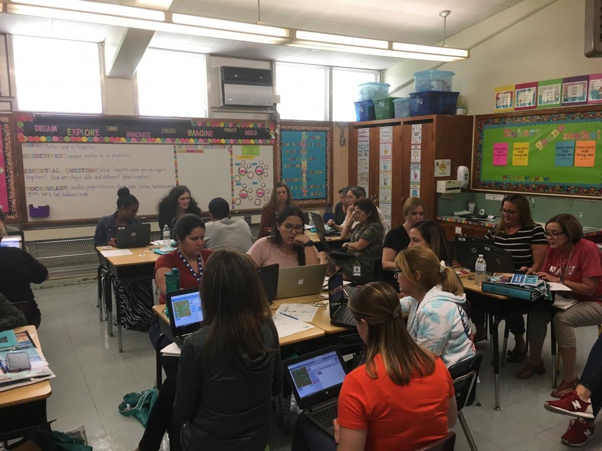 Teachers Learning Code