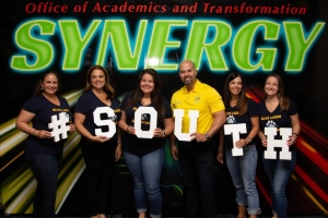 Synergy representing the south region