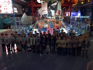 3rd Graders at Kennedy Space Center