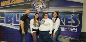 Staff Cheerleaders